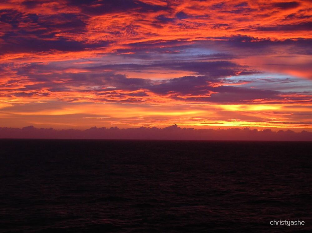 Sun Painted Horizon by christyashe