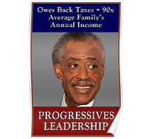 The Progressives - Cocaine Al Sharpton Poster