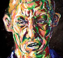 Self Portrait #6 Screwface by themachine