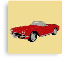 Lola: The '62 Corvette Canvas Print