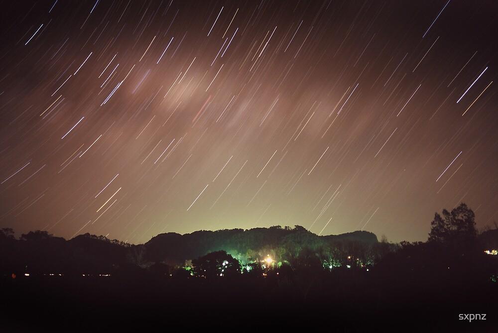 Hahei by night by sxpnz