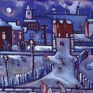 Winter wonderland (from my original painting) by sword