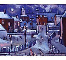 Winter wonderland (from my original painting) Photographic Print