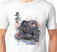Thorin from the Hobbit sumi and watercolor style Unisex T-Shirt