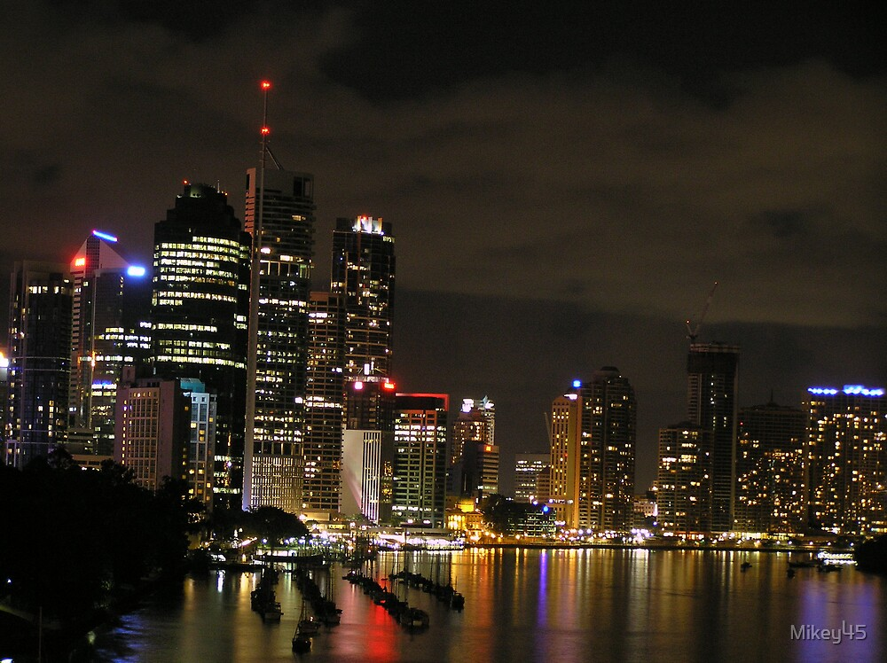 Brisbane City & River  by Mikey45