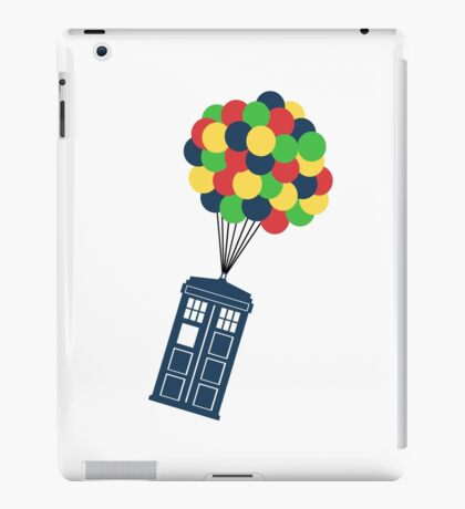 The Police Box on the sky... iPad Case/Skin