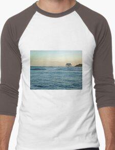 Location, Location, Location!  Stick House on The Ocean Men's Baseball ¾ T-Shirt