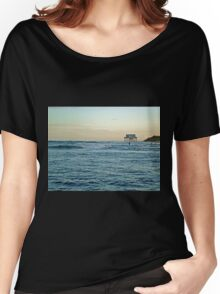 Location, Location, Location!  Stick House on The Ocean Women's Relaxed Fit T-Shirt