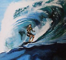 The Surfer by Dave Allen