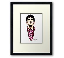 Merlin Magic Color Framed Print