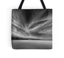 Donegal Beach in Black and White Tote Bag