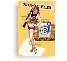 Bullseye! Canvas Print
