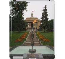 Alberta Centennial Flame iPad Case/Skin