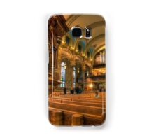 Gathered in His Name Samsung Galaxy Case/Skin