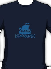 Dragon Boat - Blue T-Shirt