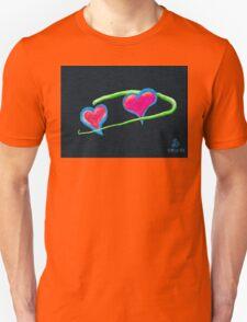 Hydrogen Hearts Unisex T-Shirt