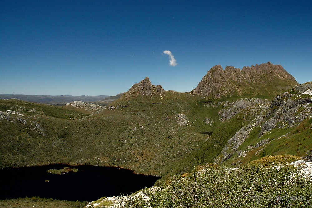 Cradle Mountain - Dove Lake by rebecca zachariah