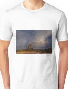 Evening Time at Devils Tower Unisex T-Shirt