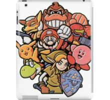 Super Smash Bros 64 Japan Characters iPad Case/Skin