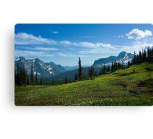 Highline Trail, Glacier NP Canvas Print