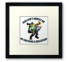 League of Legends Brolaf 1 Framed Print