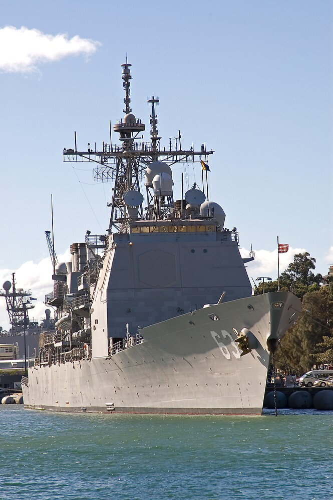 USS Cowpens by Nathan T