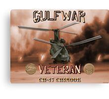CH-47 Chinook Gulf War Veteran Canvas Print