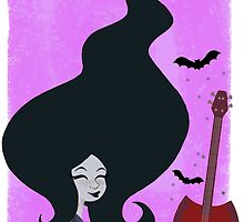 Marceline Vampire Queen by theallegra