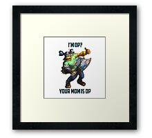 League of Legends Brolaf 2 Framed Print