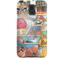 Super Smash Bros 64 Japan Cover Samsung Galaxy Case/Skin