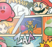 Super Smash Bros 64 Japan Cover Sticker