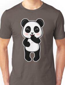 Laughing Panda Unisex T-Shirt