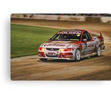 Speedway Nights Canvas Print