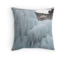 All Iced Up... Frozen Throw Pillow