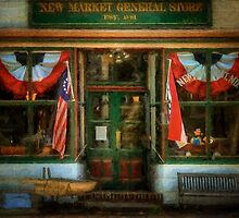 New Market General Store by Lois  Bryan