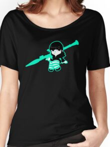 Heavy Weapon Girl Women's Relaxed Fit T-Shirt
