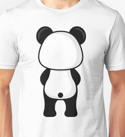 Panda Back Side Unisex T-Shirt