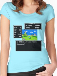 A Slime Draws Near Women's Fitted Scoop T-Shirt