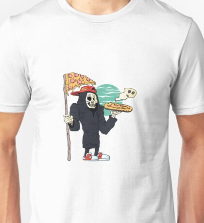 Pizza delivery reaper grim Unisex T-Shirt