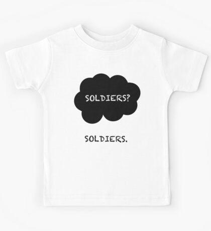 SHERLOCK- SOLDIERS TFP  Kids Tee