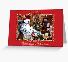 Missing You at Christmas (card) Greeting Card