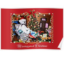 Missing You at Christmas (card) Poster