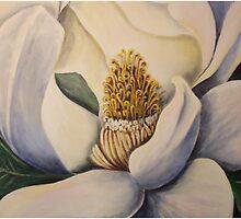 White Magnolia by Eileen Kasprick