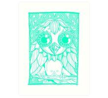 owly molly Art Print