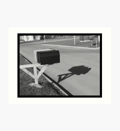 The Black Box Art Print