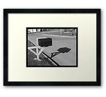 The Black Box Framed Print