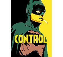 Control Photographic Print
