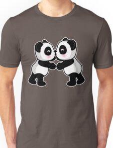 Kissing Pandas Unisex T-Shirt