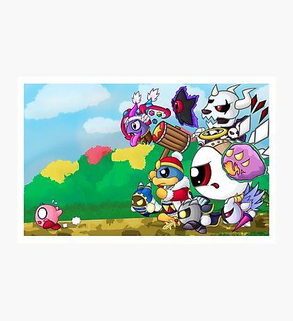 Run Kirby, Run! Photographic Print