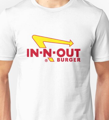 In Out Burger Merchandise Unisex T-Shirt